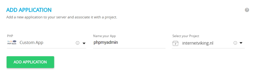 cloudways-phpmyadmin-applicatie